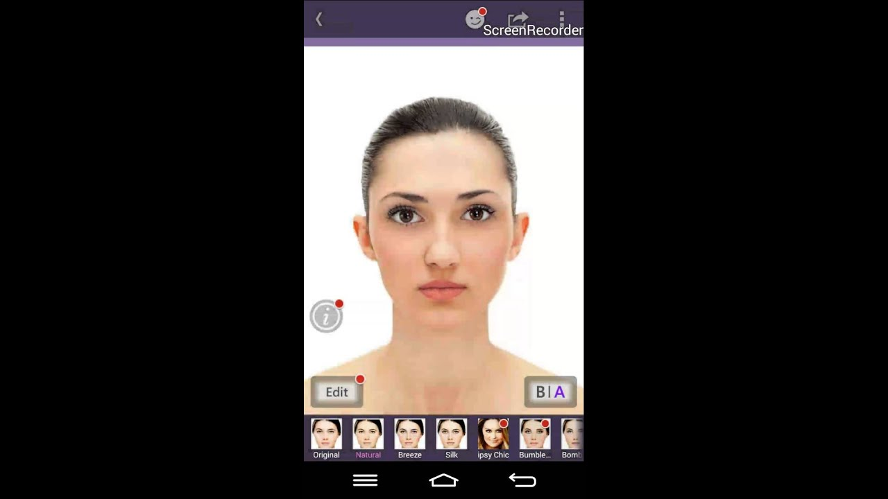 Best virtual makeup app for Android - YouTube