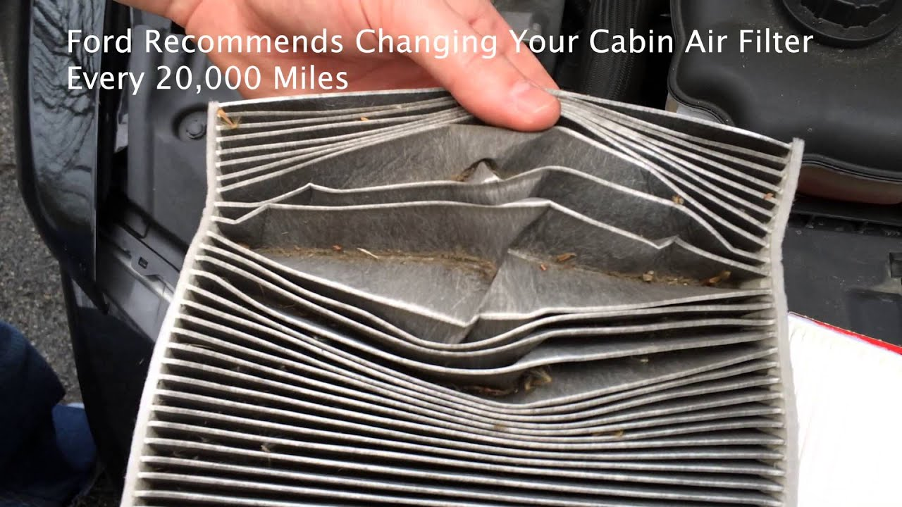 How to ford mustang cabin air filter replacement installation 2005 2013