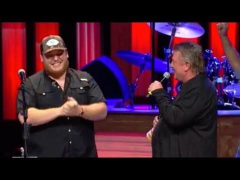 Bob Delmont - Watch Luke Combs get inducted into the Grand Ol Opry