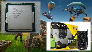 Intel Core i3-4150 \ GeForce GTX 1050 Ti \ Fortnite maxed out (epic) @1080p