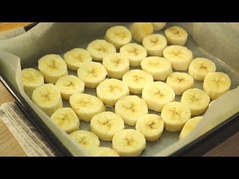 Banana Custard Cake That Is So Fragrant. Easy And Quick Recipe