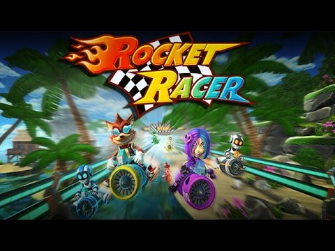 Rocket Racer Android Gameplay (HD)