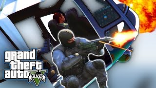 CRAZY POLICE COMMANDO MISSIONS! | GTA 5 PC Mods And Funny Moments!