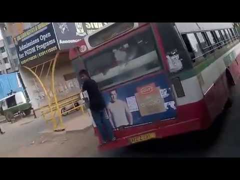 "INDIAN ""SUPERMAN"" ON RTC BUS!!!"