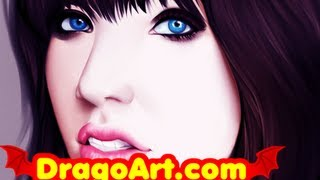 How To Draw Carly Rae Jepsen, Carly Rae Jepsen, Step by Step