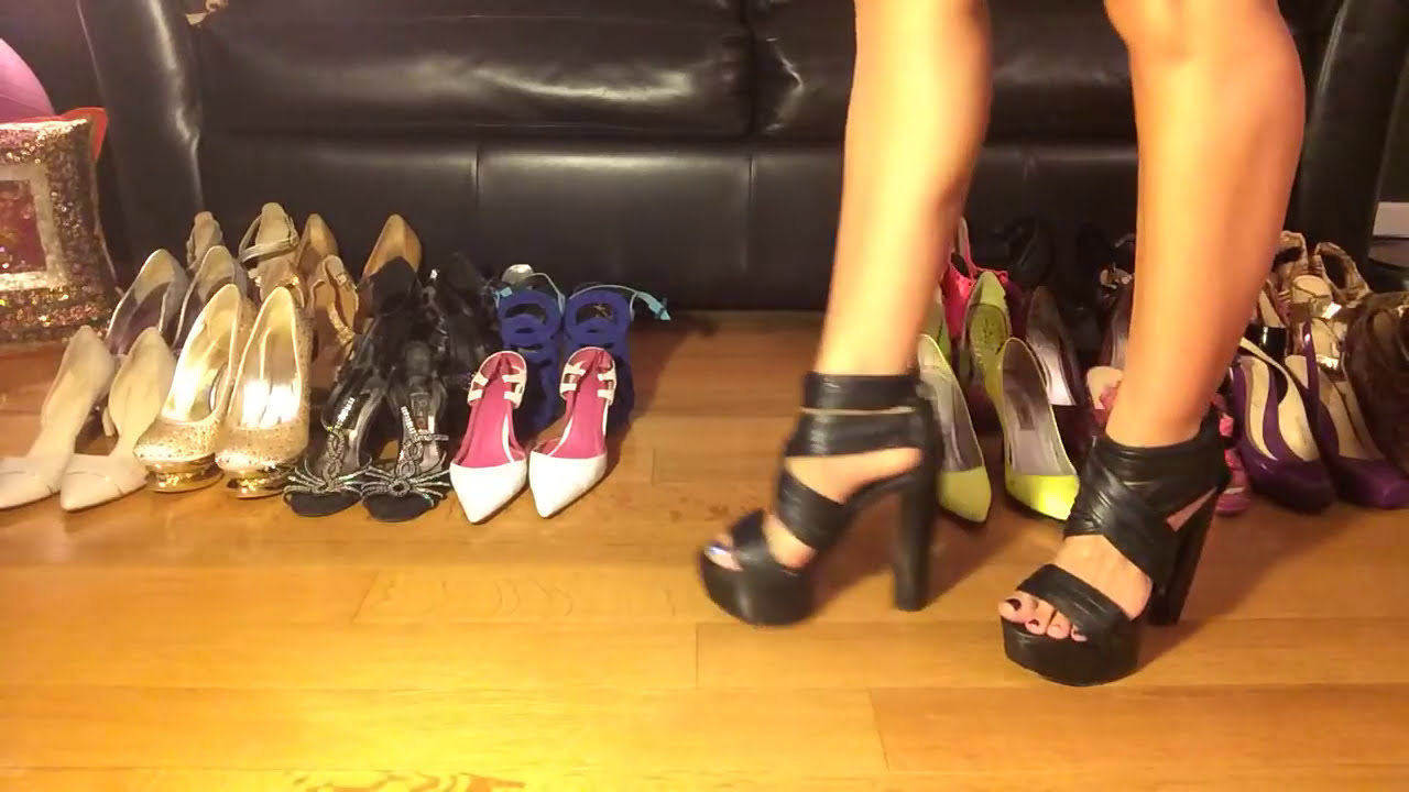 High Heel Shoe Collection CheRyl Martinez - Deals On Heels - YouTube