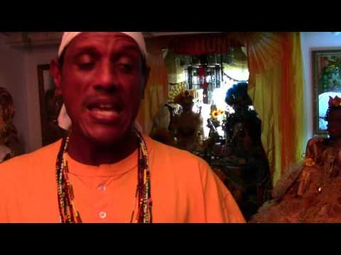Afro-Panamanian Alars and Shrines: Santero from Colon, Panama