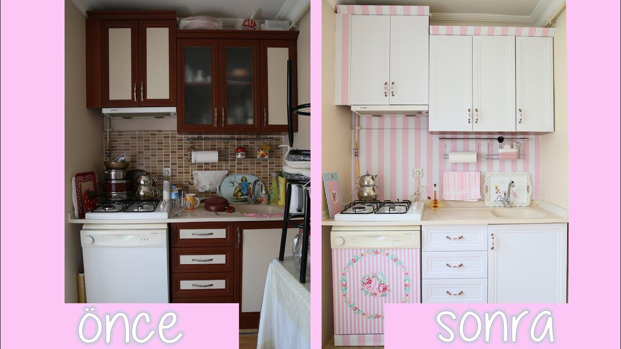 Mutfak Yenileme Dolap Kaplama Anneme Surpriz