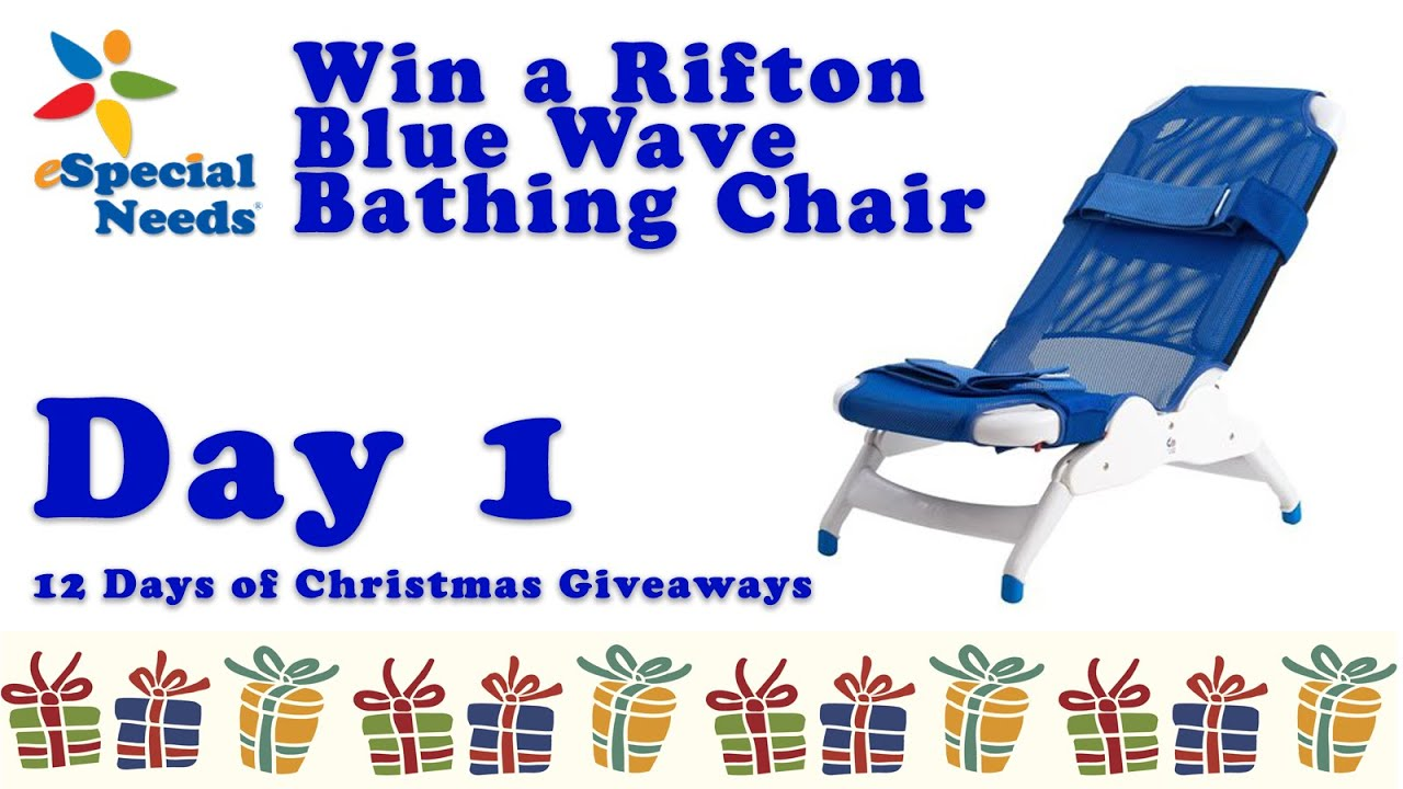 Rifton Blue Wave Bath Chair   12 Days Of Christmas Giveaways