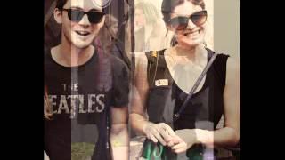 Logan Lerman and Alexandra Daddario When I look at you