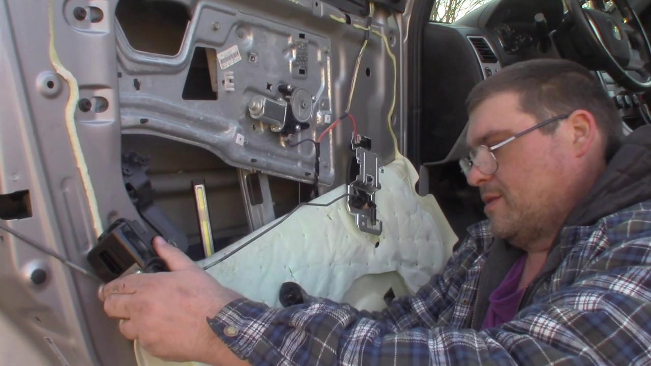 2008 Chevy Equinox Door Lock Actuator Striker Replacement Youtube