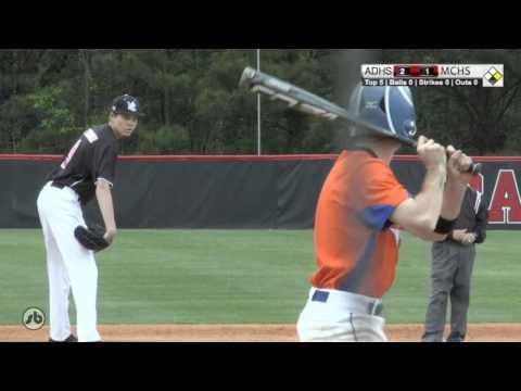 Athens Drive vs MCHS Baseball 04-15-2016