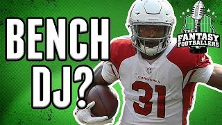 Fantasy Football Week 11 - What to do with David Johnson?
