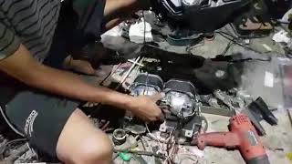 N MAX DOBEL ALTIS SHROUD BMW 2,5 INCHI RETROFIT PLASTIK