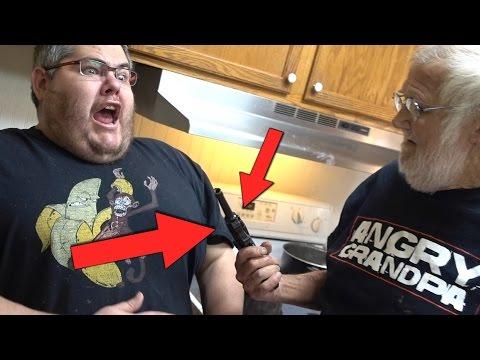 ANGRY GRANDPA'S GOT A GUN!!