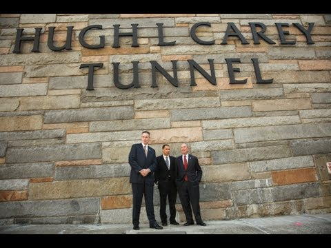 Mayor Bloomberg Speaks at Brooklyn-Battery Tunnel Renaming Ceremony