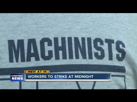 Workers to strike at midnight