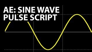 After Effects Expressions Tutorial: Sine Wave Pulse Script (Beginner)