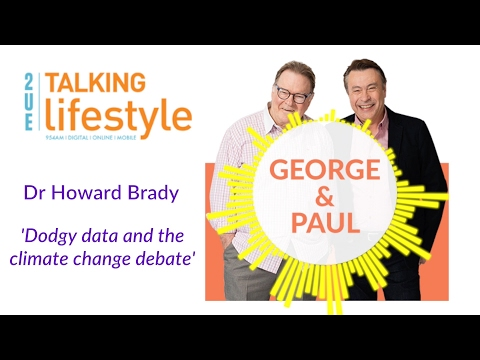 Dr Brady with George & Paul, 2UE Talking Lifestyle