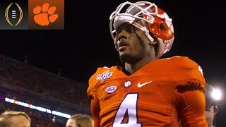 How Deshaun Watson Moves On From Mistakes | Inside The National Championship