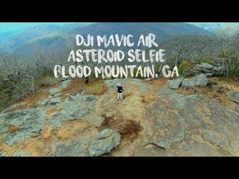 DJI Mavic Air Asteroid on Blood Mountain