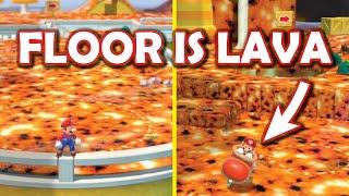 FLOOR IS LAVA Super Mario 3D World!! Full Playthrough! [Super Mario 3D World CHALLENGE MOD by Mayro]