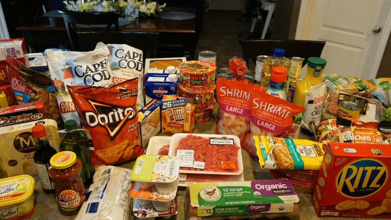 Repeat WALMART AND SAM'S CLUB GROCERY HAUL by RaisingHalo