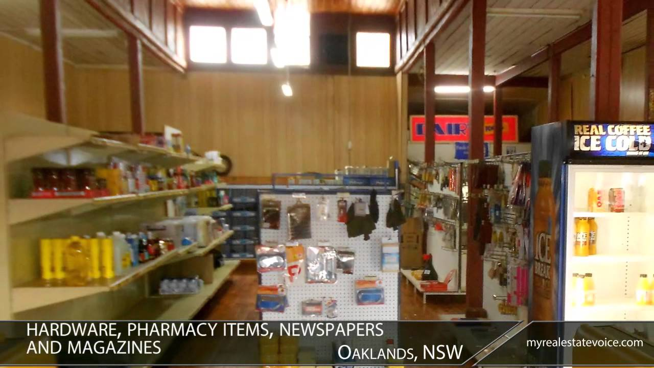 Freehold Post Office / General Store Business For Sale   Oaklands, NSW    YouTube