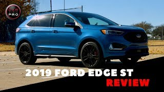 2019 Ford Edge ST Delivers Power, Handling and Sporty Style
