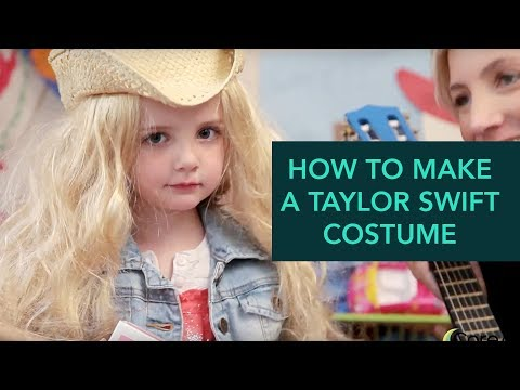 How to Make a Taylor Swift Costume - Easy DIY Halloween | Care.com