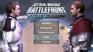 STAR WARS: Battlefront Elite Squadron - PSP - Gameplay / Review - Espectacular
