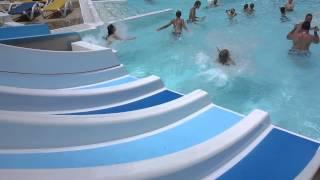Espace aquatique, piscines du camping Berrua, pays Basque