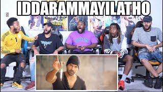 IDDARAMMAYILATHO MOVIE INTERVAL FIGHT SCENE REACTION  ALLU ARJUN
