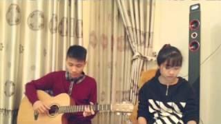 [Ái Phương] - Tôi Thấy Hoa Vàng Trên Cỏ Xanh - Guitar Cover By Quang Anh Tallica ft Thuý Bé Tí