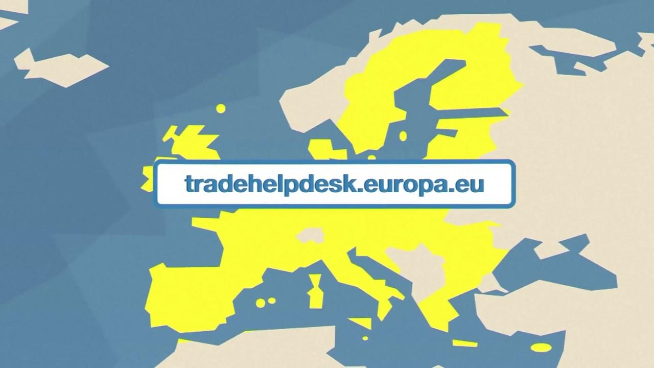 O que é o EU Trade Helpdesk?