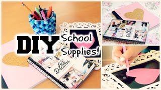 DIY School Supplies and Locker Decorations 2014! Thumbnail