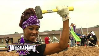 Wwe And Kaboom! Join Forces And Build A Playground For The Youth Of New Orleans, La: April 4, 2014