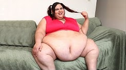 700lb BBW Model Wants To Be Too Fat To Move