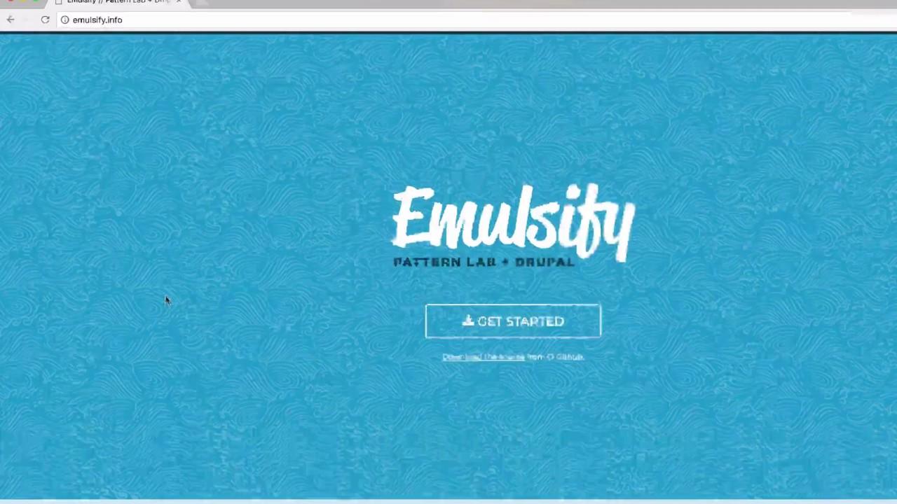 Installing Emulsify – Four Kitchens
