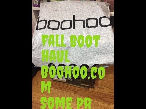 FALL BOOTS HAUL BOOHO  ,PR AND MORE