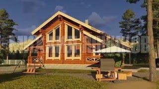 проект деревянного дома/the wooden house project(3D визуализация интерьеров и экстерьеров, детальная визуализация. Высокая скорость работы, сжатые сроки,..., 2015-12-23T09:04:56.000Z)