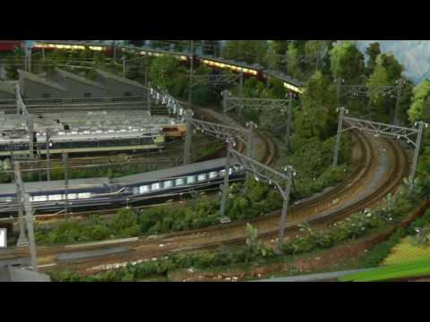 Nゲージジオラマ「私の鉄道物語」: N Gauge Model Railways Layouts