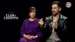 Luis Gerardo Méndez y Mariana Treviño sobre el reflejo de Club de Cuervos en México