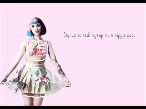 Melanie Martinez - Sippy Cup [LYRIC VIDEO]