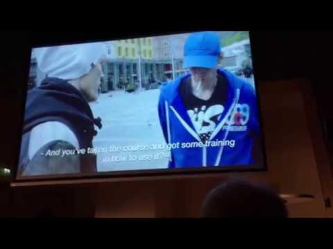 Overdosekonferanse Naloxone-film med Kim Jørgen Arnetvedt