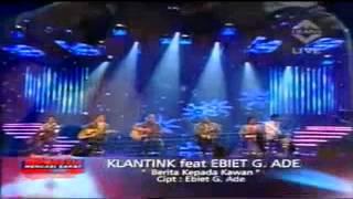 Gambar cover Klantink ft. Ebiet G Ade _Berita Kepada Kawan_