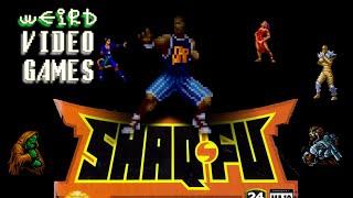 Weird Video Games   Shaq Fu