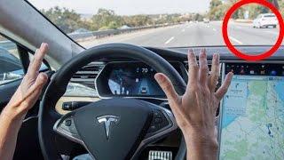 Tesla Autopilot Predicts Car Crash Moments Before It Happens
