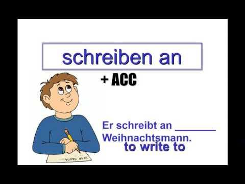 German Grammar: Verb-Preposition Combos (Accusative and Dative Case)