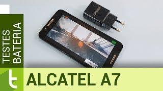 Autonomia do Alcatel A7 | Teste oficial de bateria do TudoCelular